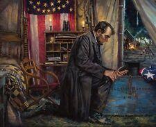Nathan Greene NOWHERE ELSE TO GO Abraham Lincoln Union Civil War 16x20 art print