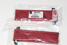 New Pair of Door Check Straps for MG Midget Austin Healey Sprite Autumn Red