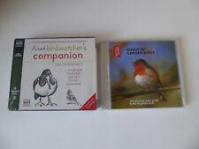 A BAD BIRDWATCHER'S COMPANION/BRITISH LIBRARY SONGS OF GARDEN BIRDS AUDIO CD