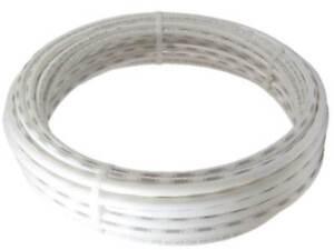 """10 Metre White 1/4"""" inch Fridge Freezer Water Filter Aquarium Tube lldpe Pipe RO"""