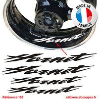 Stickers Jante Hornet - Autocollants Liseret Honda CB Hornet 250 600 Decal - 105