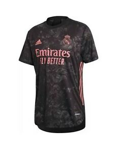 Adidas Soccer Real Madrid 20/21 Pink 3rd Jersey ONLY Size 2XL New GE0932 $130