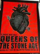 Mint Emek Queens Of The Stone Age Merriweather Columbia Md Poster 45/100