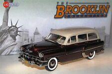 Brooklin BRK 132B, 1954 Chevrolet 210 Handyman Station Wagon, beige/brown, 1/43