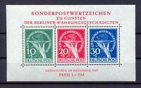 Berlin Block 1 Währungsgeschädigte postfrisch einwandfrei (bs309)