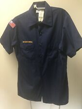 Boy Scouts of America BSA Uniform Blue S/s Shirt Youth XL With Tags