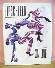 Hirschfeld On Line by Al Hirschfeld 1999 HB/DJ First Edition
