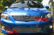 Fits 09-10 Toyota Corolla Main Upper Billet Grille Insert