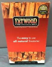 Fatwood Firestarter 09984 Fatwood for Fireplace in Color Box, 2 Pound Box 🔥