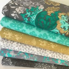 Blended Autumn 6 piece fat quarter bundle 100% cotton for sewing/ craft