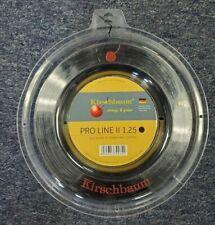 Kirschbaum Pro Line II 17 Gauge 1.25mm 660' 200m Tennis String Reel Black