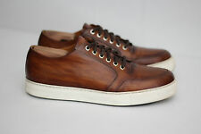 Magnanni 'Roberto' Sneakers Cuero Brown Leather Lace Up Shoes 10 M (W93)