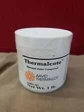 Thermalcote paste 1lb Jar Heatsink Compound  Paste