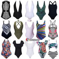 femmes Monokini Bikini Ensemble remontant pièce unique maillot de bain TANKINI