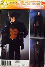 Halloween Costume Pattern Men's Adult Large XL Jykll Hyde Werewolf Detective New