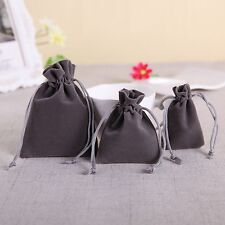 10/20/50 Velvet Bags Jewelry Wedding Party Favors Gifts Drawstring Pouches
