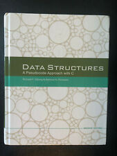 Data Structures: A Pseudocode Approach with C, Forouzan, Behrouz A.,Gilberg, Ric
