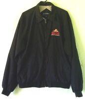 Port Authority Casual Microfiber Windbreaker Jacket Zig Zag Cigarettes Logo XL