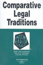 Comparative Legal Traditions in a Nutshell Nutshell Series