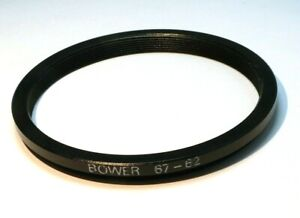 67mm to 62mm step down adapter ring for lens filter threaded double