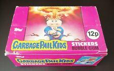 More details for uk garbage pail kids series 1 display box (1985) vintage ~ topps ~ no black line