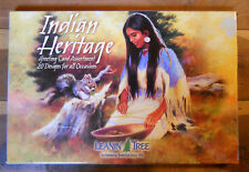 20 Leanin Tree Greeting Cards American, INDIAN HERITAGE, All Occasion Assorted