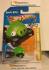 Angry Birds Minion Pig #35 * 2012 Hot Wheels * E24