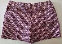 New Women's Worthington Modern Fit Shorts color Multi Size 12