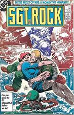 Sgt. Rock Comic Book #412, DC Comics 1986 NEAR MINT