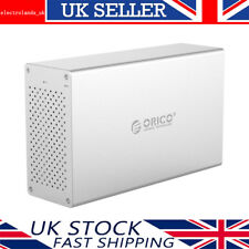 [USB 3.0 & Raid] ORICO Aluminium Dual Bay 3.5 Inch SATA III Hard Drive Enclosure