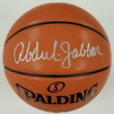 Kareem Abdul-Jabbar signed Replica Spalding Game Basketball ~ BAS Witness COA