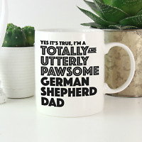 German Shepherd Dad Mug: Funny gift for german shepherd lovers! Alsatian gifts