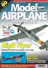 Model Airplane International # 57, Bell X-1, Tamiya Spitfire Ta 152H Bf 109F