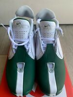 Nike Air Zoom Vick II 2 Eagles White Green Jets 599446-100 Mens Shoes Size 7 NWB