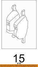 FORD OEM 13-18 Escape Brake-Front Pads CV6Z2001L