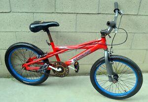 "SCHWINN TILT BMX BIKE SINGLE SPEED STEEL FRAME 20"" TIRES"