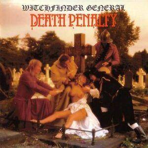 WITCHFINDER GENERAL - DEATH PENALTY - REISSUE RED VINYL LP 180 GRAM 2010 NEW