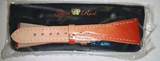 NWT - GLAM ROCK  LEATHER WATCH STRAP/BAND Brown Fade 22 mm