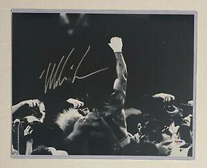 Mike Tyson Boxing Signed 11x14 Photo Autograph PSA/DNA COA