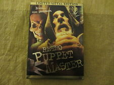 RETRO PUPPET MASTER  -- LIMITED  METAL EDITION                 ------------  DVD