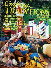 Crafting Traditions July/Aug 1996: Full-Size Patterns; 40+ Projects