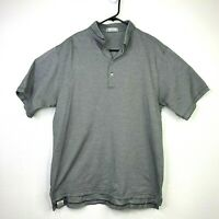 Peter Millar Golf Polo Shirt Men's Size L Short Sleeve Collared Casual Athletic
