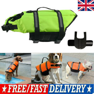 Pet Dog Life Jacket Buoyancy Aid Pet Swimming Boating Reflective Safety Vest PP