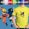 Naruto Uzumaki Sasuke Uchiha Anime Manga Ninja Unisex Kids Tee Youth T-Shirt