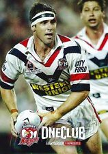 ✺Mint✺ 2002 SYDNEY ROOSTERS NRL Premiers Card BRAD FITTLER 3 of 7