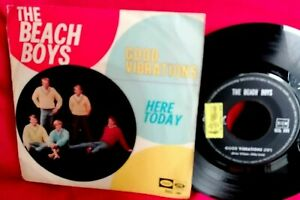 BEACH BOYS Good vibrations 45rpm 7' + PS 1966 ITALY EX+