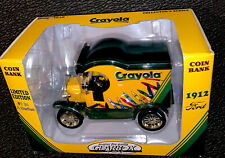 Gear Box Crayola Crayon Die Cast 1912 Ford Delivery Limited Edition Coin Bank!