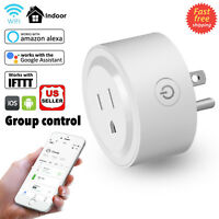 Wifi Mini Smart Plug Outlet Socket Work With Amazon Alexa Echo Google Home IFTTT
