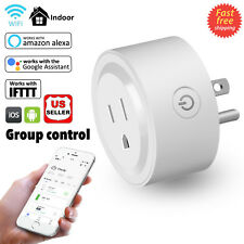 Wifi Mini Smart Plug Outlet Socket Work With Amazon Alexa Echo Google Home Ifttt