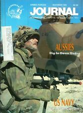 1989 Armed Forces Journal Magazine: Aussies Dig in Down Under/US Navy Carriers
